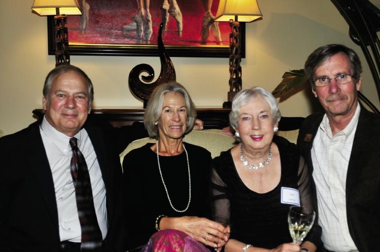 Dewitt Myatt, Penny Herzog, Jane Carson and Al Stephenson