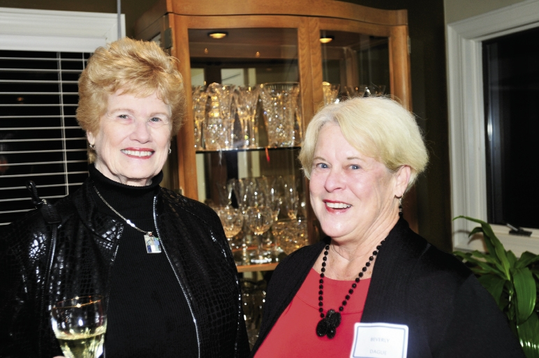 Marilyn Sonnet and Beverly Dague