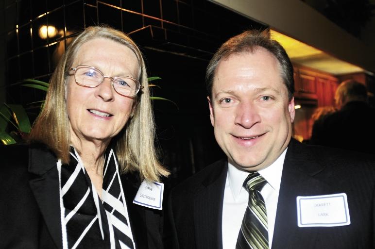 Diana Castrodale and Jarret Lark