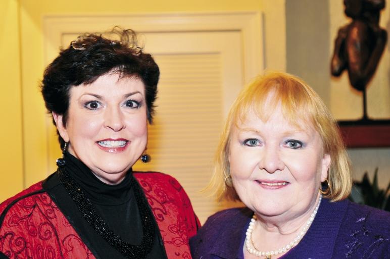 Sara Richardson and Diane White