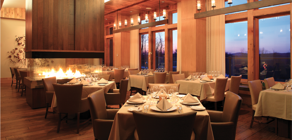 Primland offers four dining options that range from casual fare to fine dining.