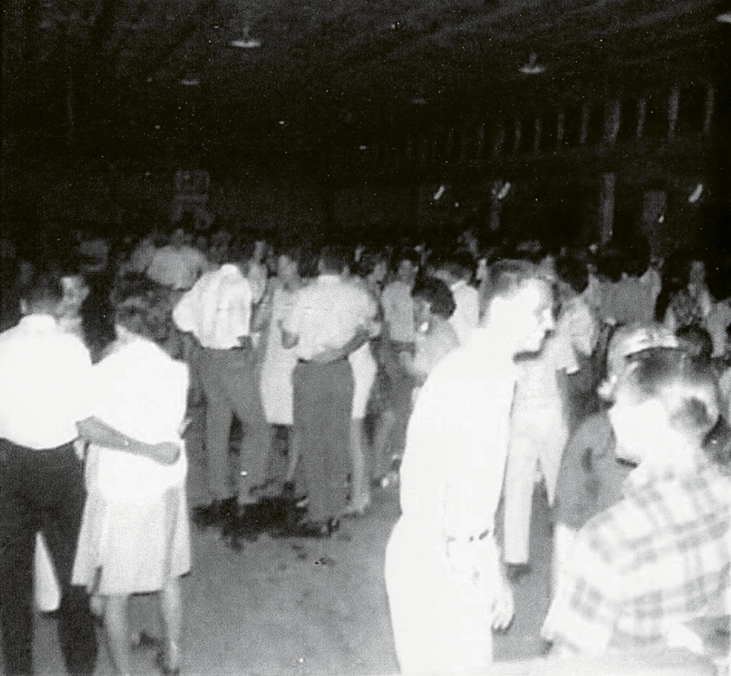 Crowds gathered at the pavilion during the summer to dance and enjoy the sounds of summer. Linda Quinlan James of the Monzas noted that in her experience they were probably the best behaved crowds on the strand.
