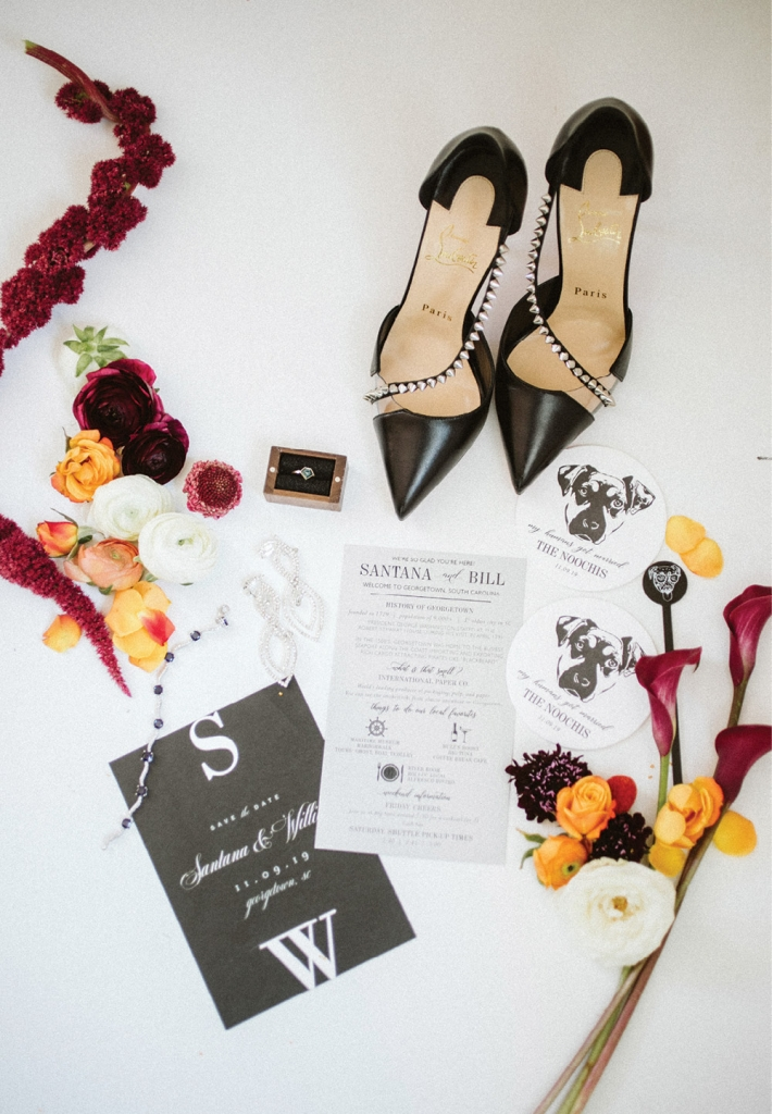 Charlotte + Lily and Bree Moore Design & Calligraphy also added their touches to the special day.