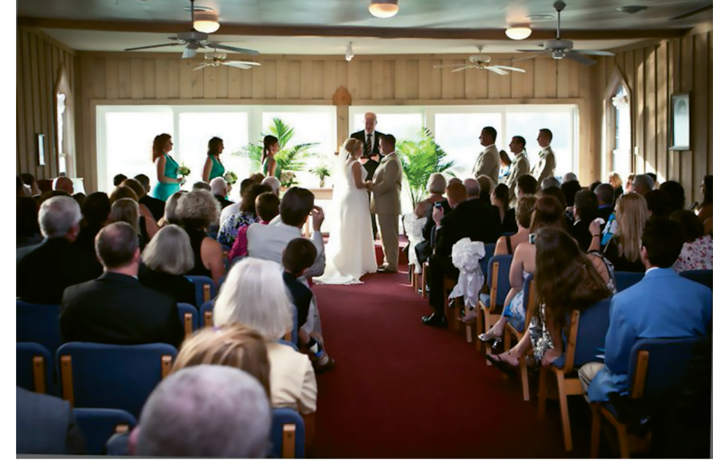 Shannon and Ben Detzler were married at the Pawleys Island Chapel in 2010.
