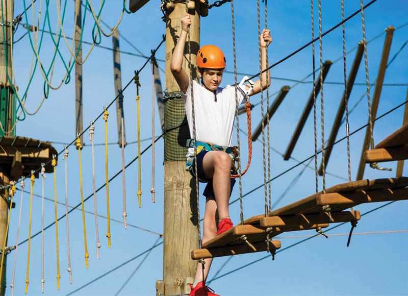 Radical Ropes Adventure Park in Myrtle Beach is one of a handful of ropes courses in the area