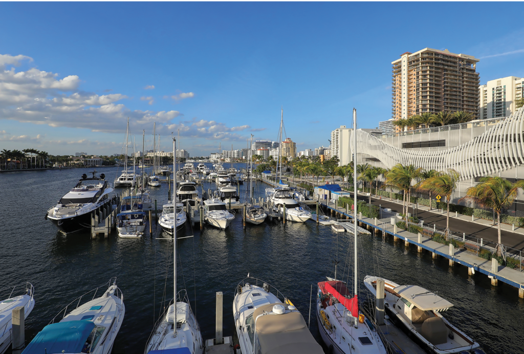 The Yachting Capital of the World, Fort Lauderdale's inland canals and the New River are the perfect home for the thousands of watercraft of all sizes in this year-round paradise.