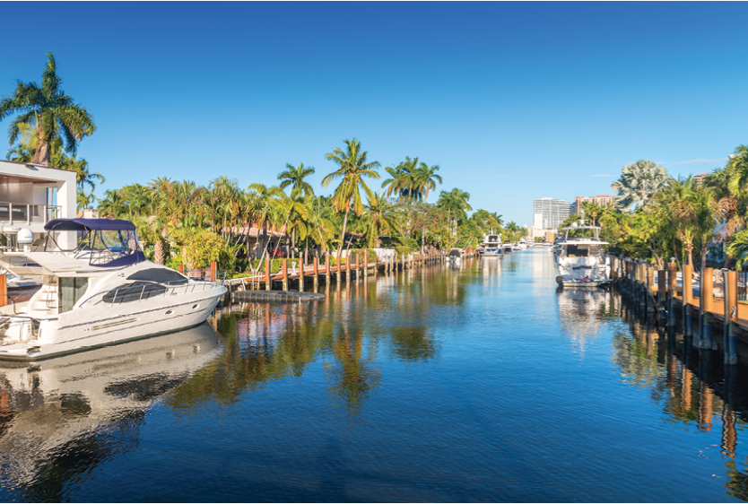 """As a blend of land and sea, with easy access to the Atlantic Ocean, Fort Lauderdale is known as """"The Venice of America,"""" for good reason."""